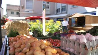 Buechibärger Märet hat bisher auf dem Rossmarktplatz stattgefunden. (Archiv)