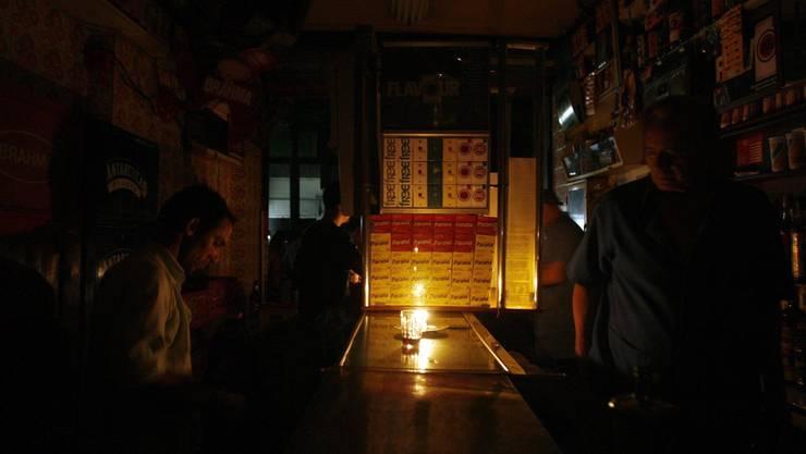 Ein Stromausfall am Sonntag legte Lenzburg lahm.