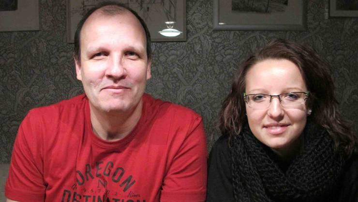 Adrian und Jessica Bielmeier: Vater und Tochter organisieren zusammen mit dem Narrenkomitee Schnapsloch die Fasnacht.