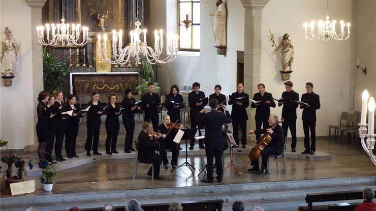 Vocalino überzeugte in der Klosterkirche.Matthias Steimer