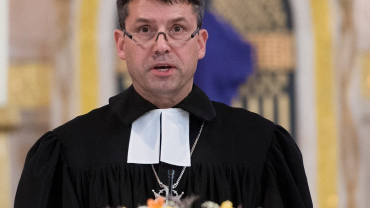 Hat neu einen Badge fürs Bundeshaus: Reformierten-Präsident Gottfried Locher.