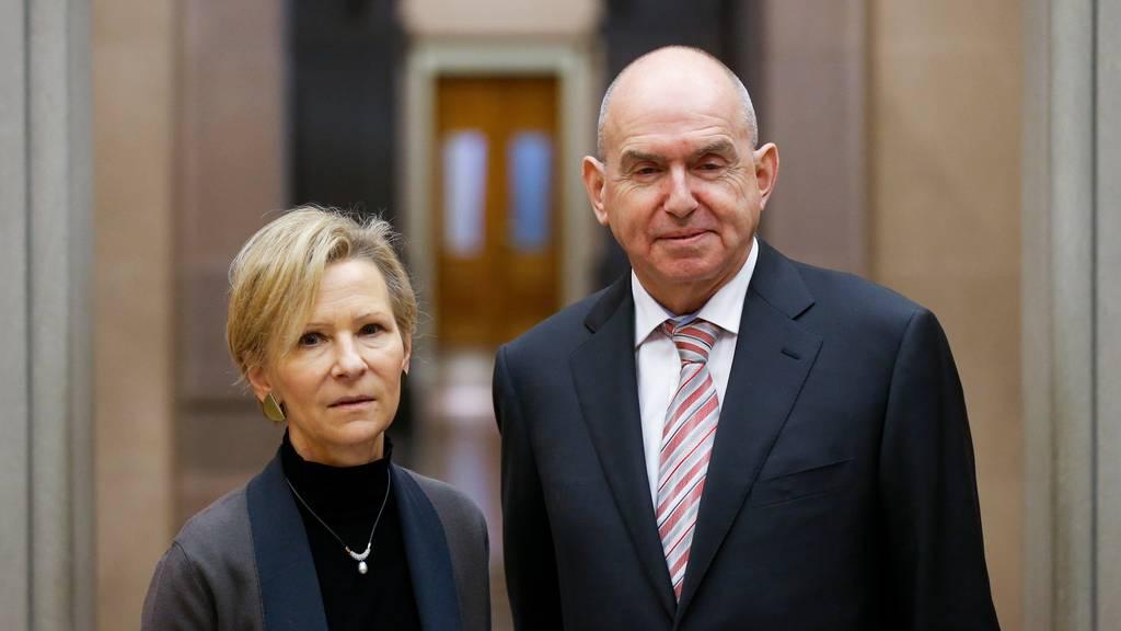 Martha Niquille soll das Erbe von Ulrich Meyer als Präsident des Bundesgerichts antreten.
