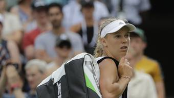 Muss Taschen bereits packen: Caroline Wozniacki