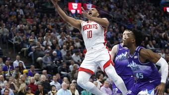 Eric Gordon führte die Rockets mit 50 Punkten zum Sieg