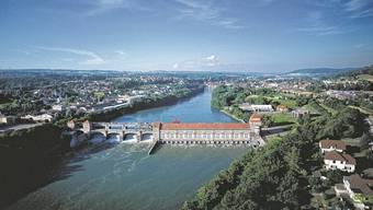 Das Kraftwerk Laufenburg gehört zur Energiedienst-Gruppe.