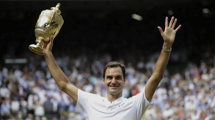 Es war Federers elfter Final in Wimbledon - so viele Endspiel-Teilnahmen am selben Grand-Slam-Turnier kann kein anderer vorweisen.