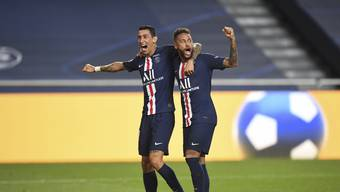 Neymar bejubelt mit Di Maria den Einzug in den Champions-League-Final