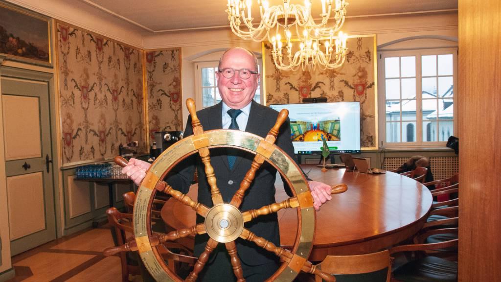 Regierungsrat Fredy Fässler (SP) übernimmt für den Kanton St. Gallen das Steuerrad der Internationalen Bodenseekonferenz (IBK).