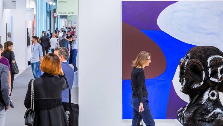 Das grosse Stelldichein der internationalen Kunstmarktwelt: Die Art Basel geht ins 49. Jahr