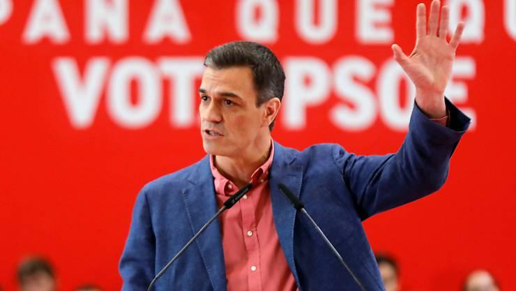 Sozialisten-Chef Pedro Sánchez ist zwar klarer Sieger der Wahl in Spanien, dass er eine Regierung wird bilden können, ist aber alles andere als gewiss.