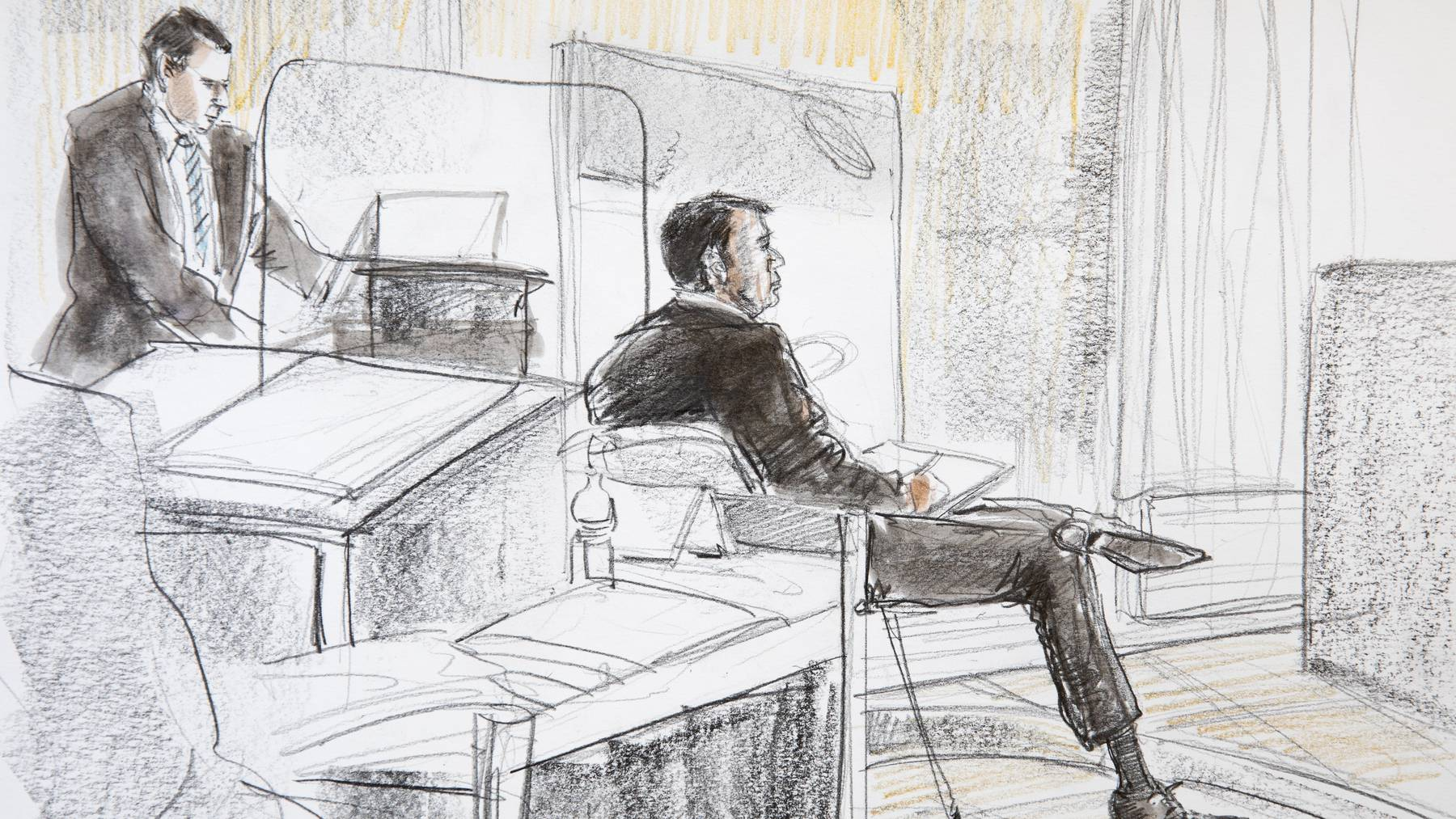 Der ehemalige Reeder Hans-Jürg Grunder muss sich vor dem Wirtschaftsstrafgericht in Bern verantworten.