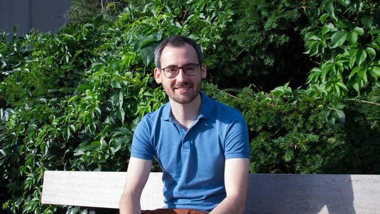 Der Zufiker Lukas Glaus studiert Maschinenbau und Humanmedizin.