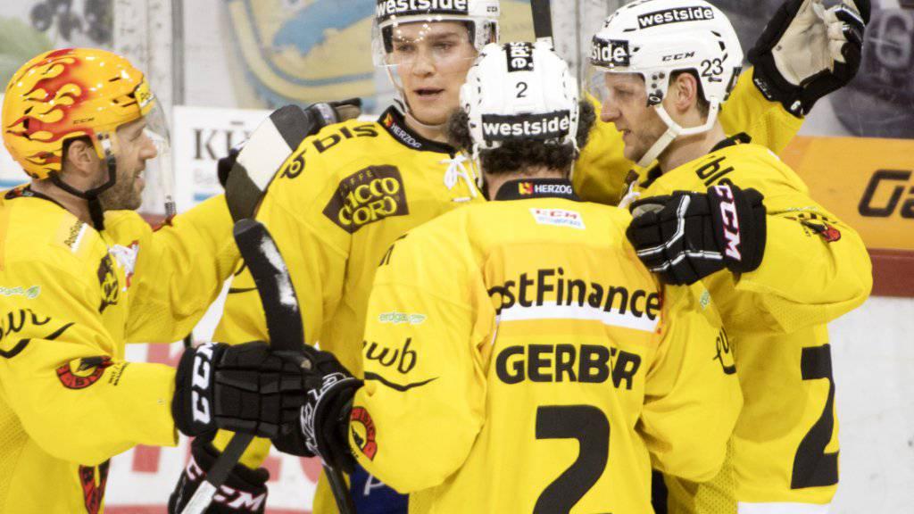 Der SC Bern gewinnt in Langnau ohne Mühe
