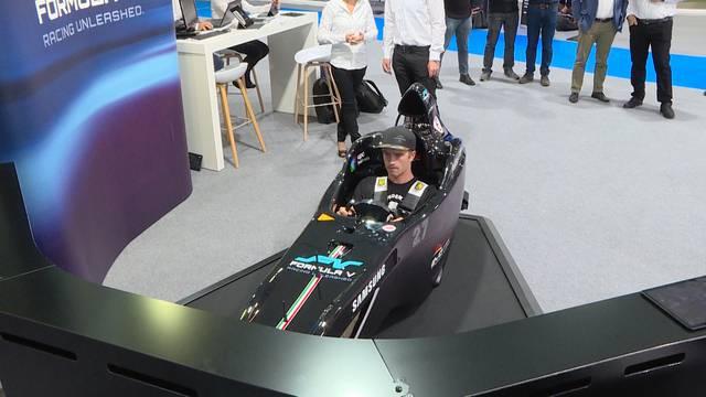 Formel-E-Simulator: Nichts für schwache Mägen