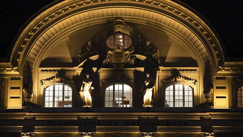 SNB schreibt im ersten Quartal Gewinn von 37,7 Milliarden Franken