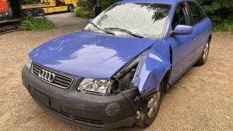 Unfall in Küttigen (Juli 2020)