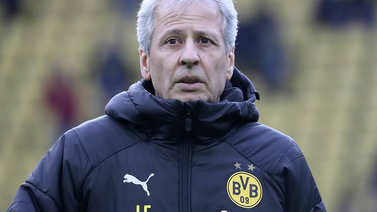Lucien Favre steht als Trainer von Dortmund vor seinem ersten Revierderby