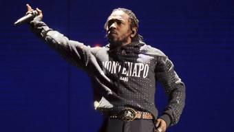 Der Rapper Kendrick Lamar brachte die Politik zurück in die Musik der letzten zehn Jahre. (Archivbild)