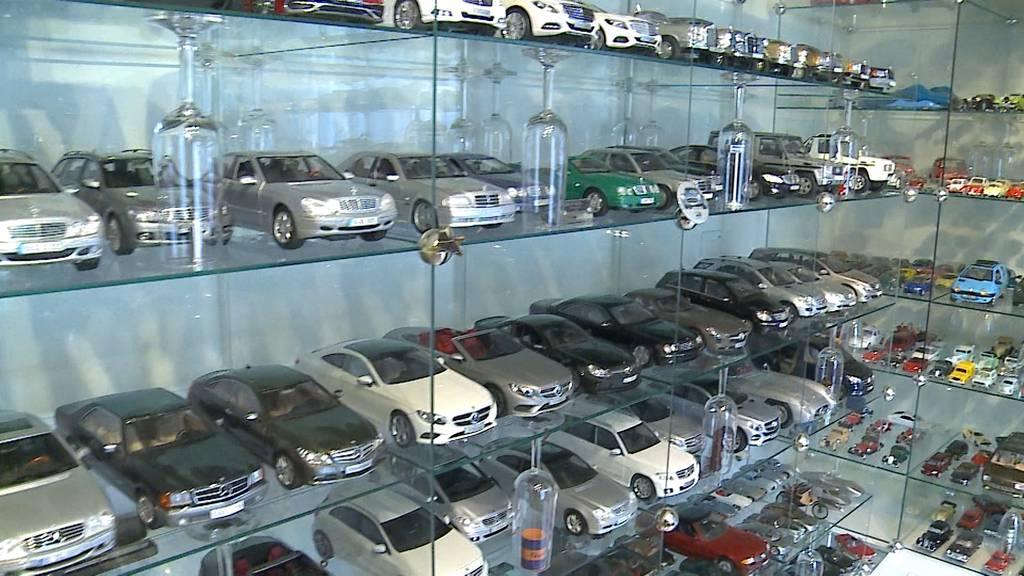 Genfer Autosalon in Miniatur