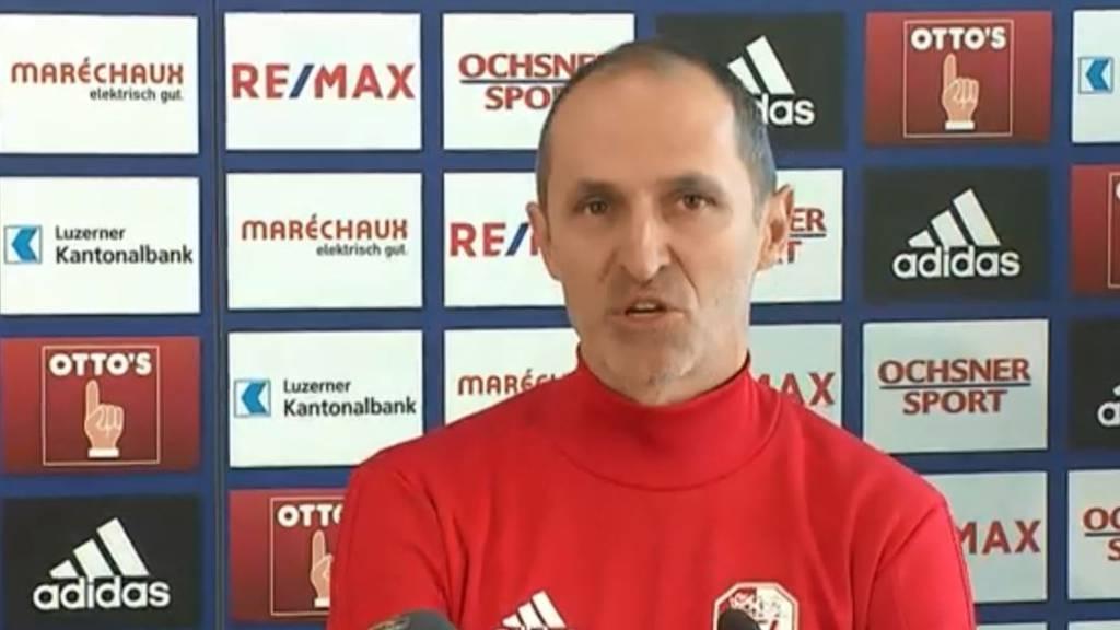 Häberli als neuer FCL-Trainer vorgestellt