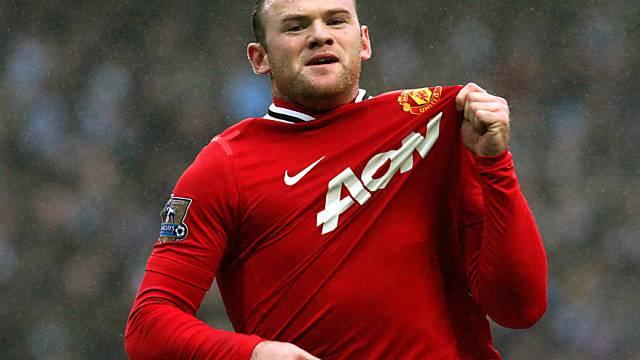Wayne Rooney schoss Manchester United in die nächste Cup-Runde