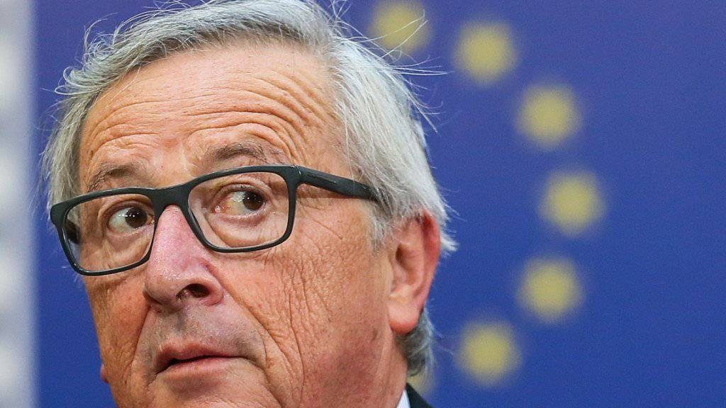 Der Bundesrat lässt es offen, ob er EU-Kommissionspräsident Jean-Claude Juncker bei seinem Besuch in Bern eine weitere Kohäsionsmilliarde verspricht. (Archivbild)