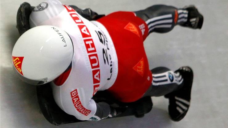 Lukas Kummer unterwegs an der letztjährigen WM in St. Moritz. Foto: Keystone