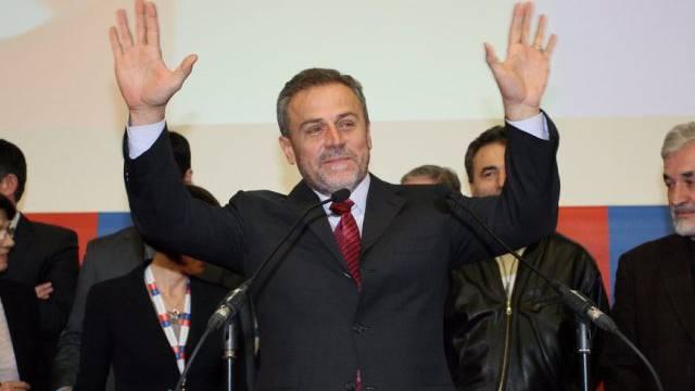 Der amtierende Bürgermeister von Zagreb, Milan Bandic (Archivbild)