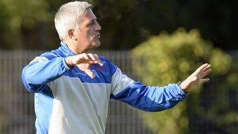 Nationaltrainer Vladimir Petkovic plant mit einem neuen Spielsystem, will aber taktisch flexibel bleiben.