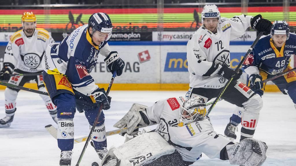 Der EVZ schlägt den HC Lugano in der Verlängerung mit 3:2