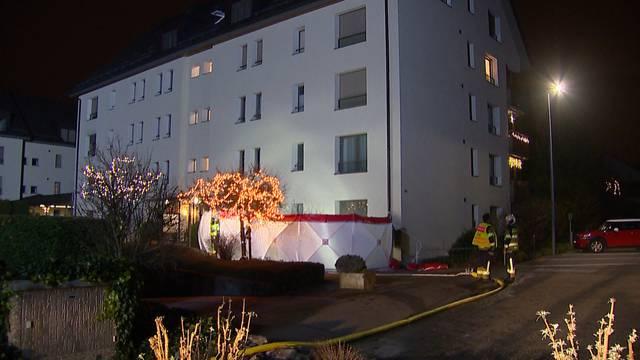 Ehepaar stirbt bei Brand in Romanshorn