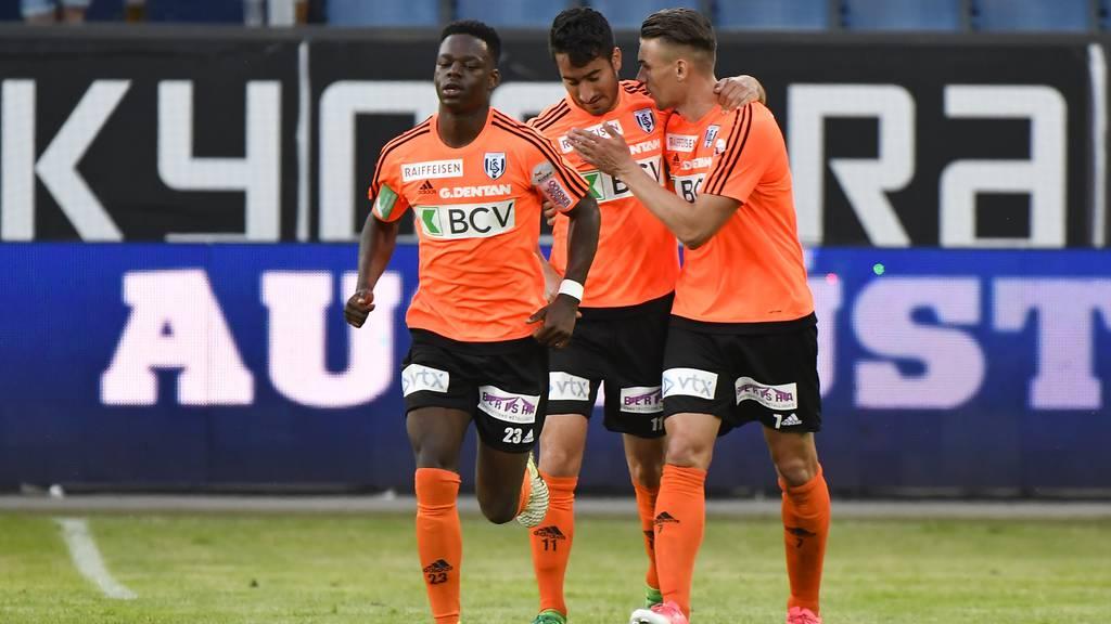 Lausanne schliesst zum FC Luzern auf