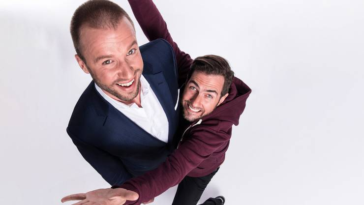 Passen zusammen wie Topf und Deckel: Jonny Fischer (40, links), und Manu Burkart (42) von Cabaret Divertimento.