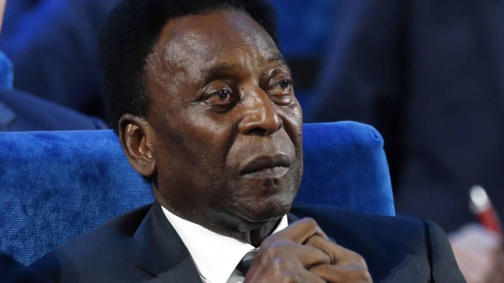 Pelé muss sich um seine Gesundheit Sorgen machen