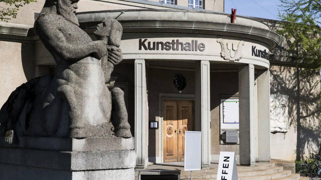 Die Kunshalle Bern feiert am 18. Mai ihr 100-jähriges Jubiläum. (Archiv)