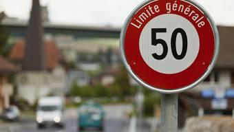 Ein Portugiese fuhr innerorts 105 statt 50 km/h (Symbolbild).