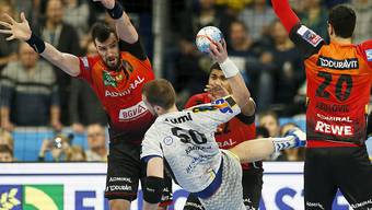 Handball bietet immer wieder tolle Kampfszenen