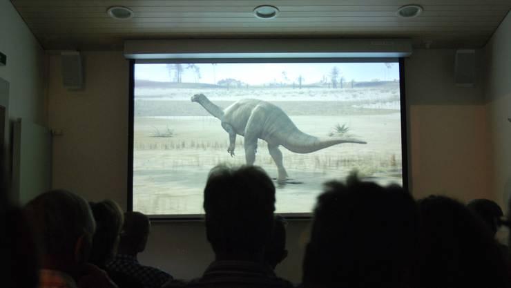 Der alte Film im Sauriermuseum wurde nach 20 Jahren durch ein spannendes, neues Filmdokument ersetzt.