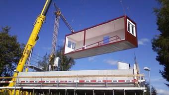 Auf dem alten BVB-Areal an der Münchensteinerstrasse sollen temporäre Wohncontainer gebaut werden sollen. (Symbolbild)