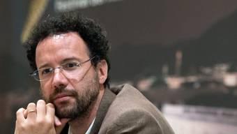 Carlo Chatrian, der scheidende künstlerische Direktor des Filmfestivals Locarno, hat am Mittwoch in Bern sein letztes Programm vorgestellt, bevor er an die Spitze der Berlinale wechselt. (Archivbild)