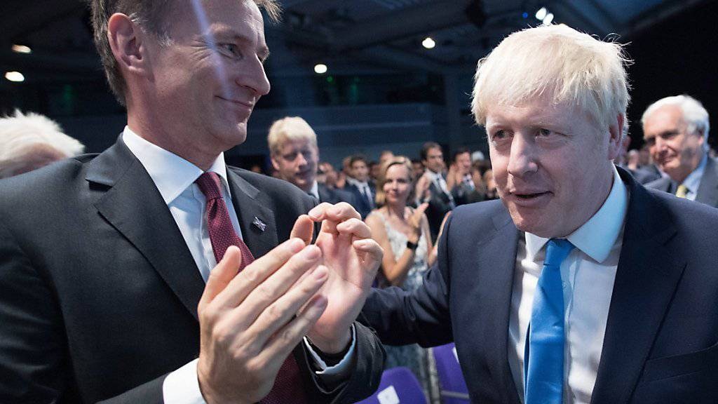 Aussenminister Hunt gehört neuer britischer Regierung nicht an
