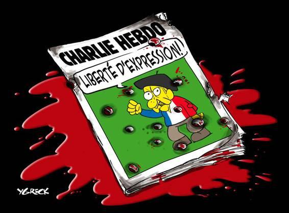Frontschlagzeile: «Meinungsfreiheit»