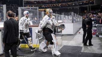 Verlässt Lugano am Mittwoch das Eis im Hallenstadion als Sieger? Torhüter Elvis Merzlikins marschierte als Verlierer in Spiel vier in die Garderobe.