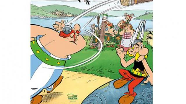Asterix und Obelix mischen jetzt Schottland auf – neu hat sie Didier Conrad gezeichnet. Éditions Albert René