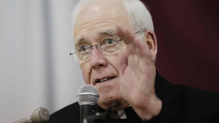 Wegen eines Missbrauchsskandals in seiner Diözese gibt der Bischof von Buffalo im US-Bundesstaat New York sein Amt auf. (Archivbild)