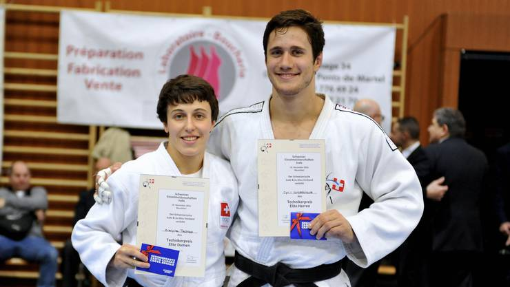 Evelyne Tschopp und Ciril Grossklaus holen Gold und silber am Judo Grand Prix.