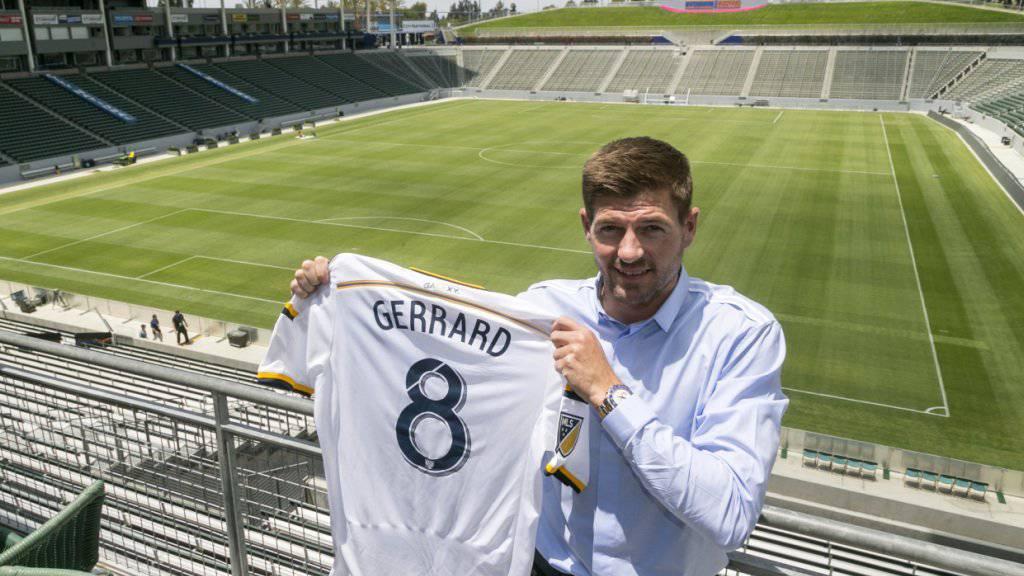 Die Zeit von Stephen Gerrard bei den Los Angeles Galaxy ist zu Ende