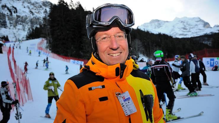 Urs Näpflin ist seit 2014 OK-Präsident der Lauberhornrennen in Wengen.