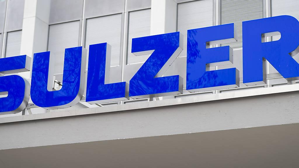 Sulzer erhält 2020 weniger Bestellungen und macht weniger Gewinn. (Archiv)