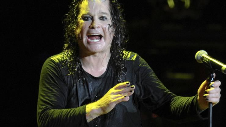 Nicht noch einmal: Der britische Rocker Ozzy Osbourne verbietet US-Präsident Donald Trump jegliche Nutzung seiner Songs für den Wahlkampf. (Keystone/DPA/BRITTA PEDERSEN)